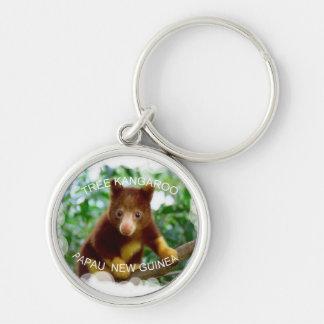 Tree kangaroo keychain