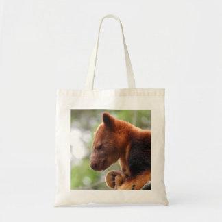 Tree Kangaroo Tote Bag