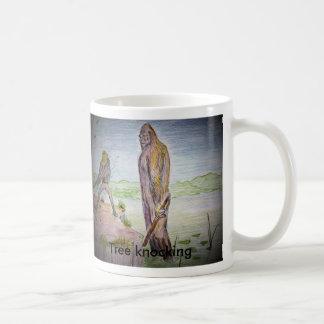 tree knocking, Tree knocking Coffee Mugs
