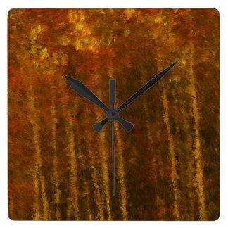 Tree Landscape Autumn Beauty Clock