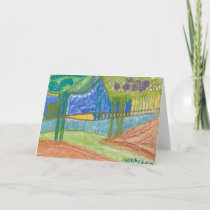 Tree Landscape Card