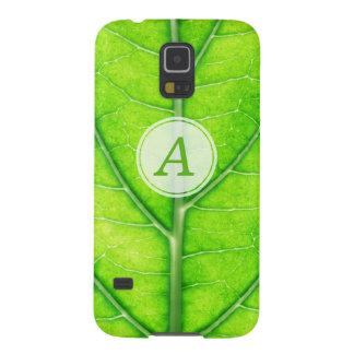 Tree leaf galaxy s5 cover