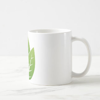 tree  leaf sign coffee mug