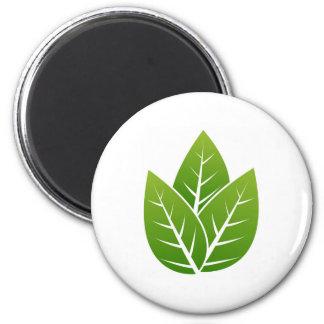 tree  leaf sign magnet