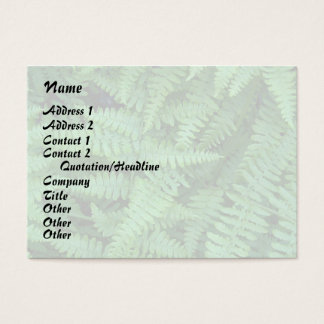 Tree Leaves Leaf Design Woods Forest Business Card