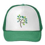 Tree Leaves Mesh Hat