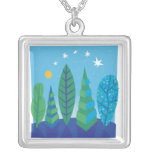 Tree Leaves Necklace