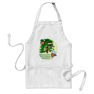 Tree Leprechaun Adult Apron