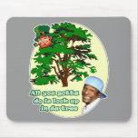Tree Leprechaun Mouse Pad