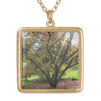 Tree Light Ray Necklace