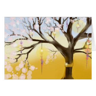 Tree Lights Card