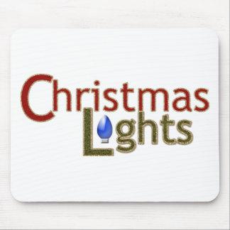 Tree Lights - Christmas Mouse Pad