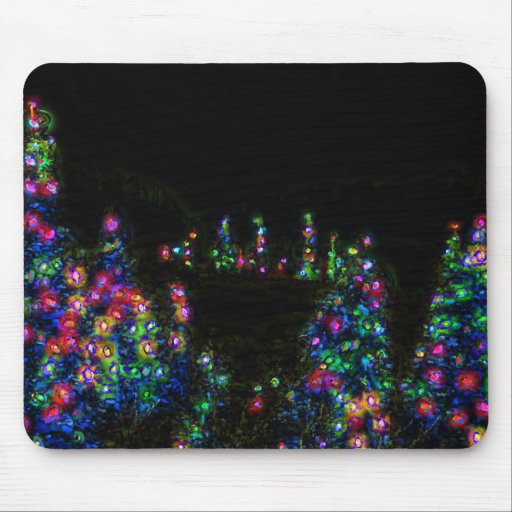 Tree Lights Mousepad