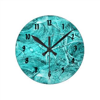 Tree Limb Fractal Themed Merchandise Round Clock
