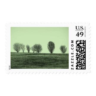 Tree Line Postage
