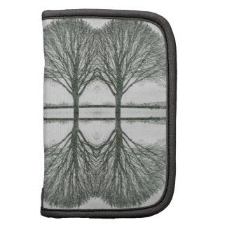 Tree Line Reflected - photographic Pattern Folio Planner