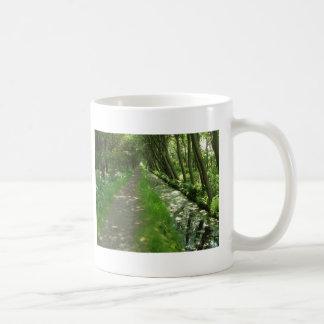 tree lined mugs