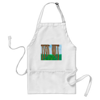 tree-lined-path adult apron