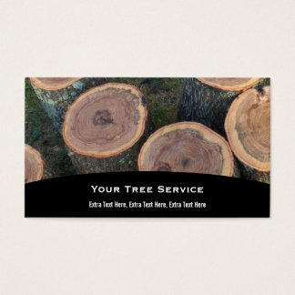 Tree Log Business Card
