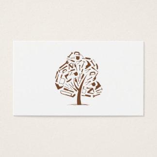 Tree Logo Business Card