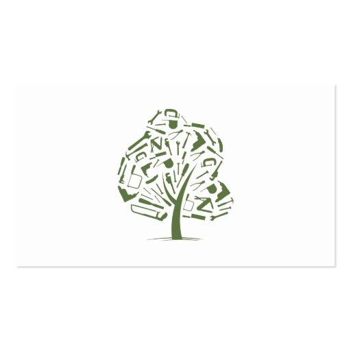 Tree Logo Business Card Templates