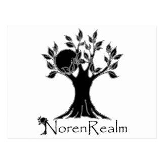 Tree logo- realm black.png postcard