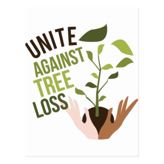 Tree Loss Postcard