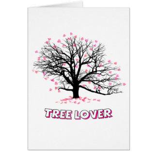 Tree Lover Greeting Card
