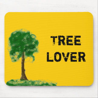 Tree Lover Mouse Pad