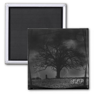 Tree Maganet 2 Inch Square Magnet