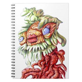 Tree Man Cartoon Notebook