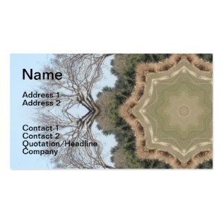 Tree Mandala Business Card