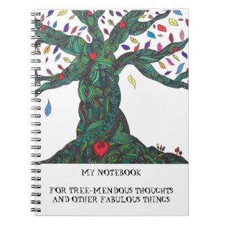 Tree-mendous notebook