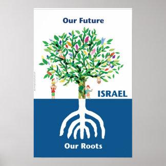 Tree Menorah Poster