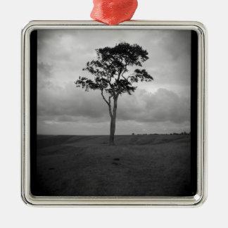 Tree Metal Ornament