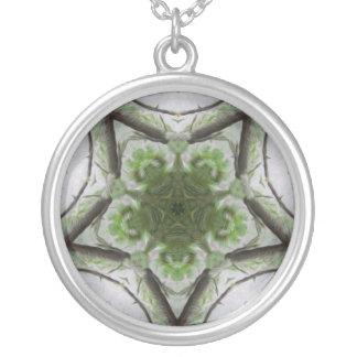 Tree Mist Pattern Necklace