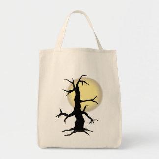 TREE & MOON by SHARON SHARPE Tote Bag