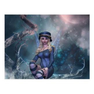 Tree Moon Fairy B Post Card