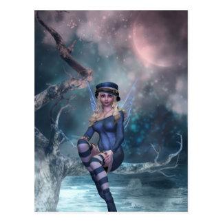 Tree Moon Fairy B Postcards