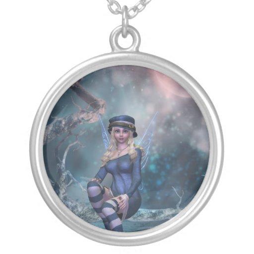 Tree Moon Fairy Necklace