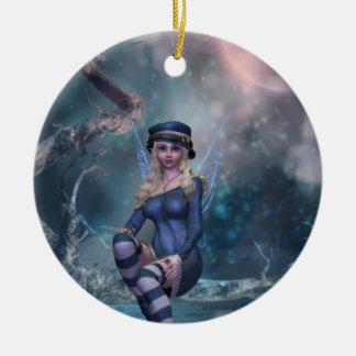 Tree Moon Fairy Ornament