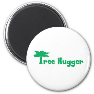 tree more hugger 2 inch round magnet