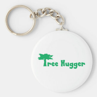 tree more hugger keychain
