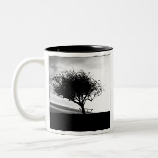 Tree Mug. Wirral Hill mug