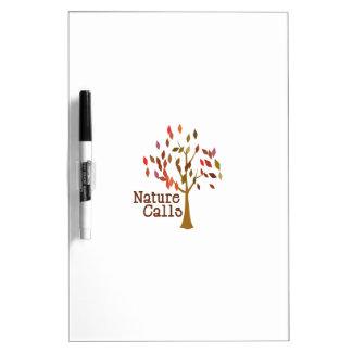 Tree_Nature Calls Dry-Erase Board