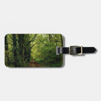Tree Natures Pathway Travel Bag Tag