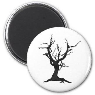 Tree Nine 2 Inch Round Magnet