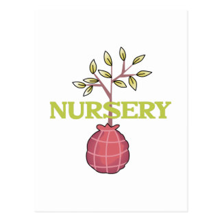 TREE NURSERY POSTCARD