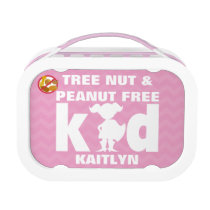 Tree Nut and Peanut Free Kid Girl Superhero Lunch Box