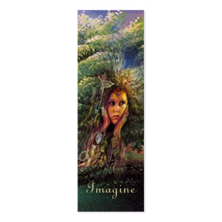 Tree Nymph Bookmarker Double-Sided Mini Business Cards (Pack Of 20)